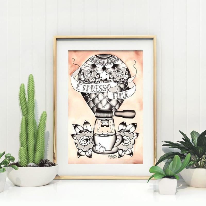 Espresso Time Coffee Print - Jubly-Umph -  Print, - 1