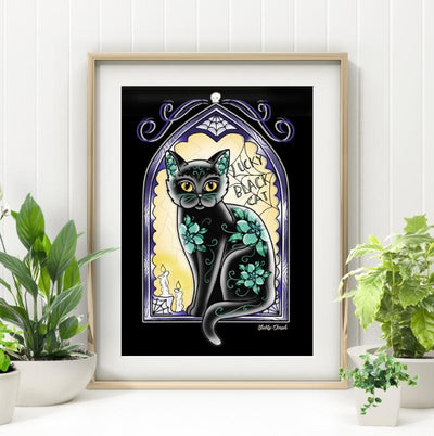 Midnight Tomcat Print
