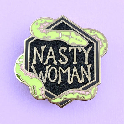 Nasty Woman Lapel Pin