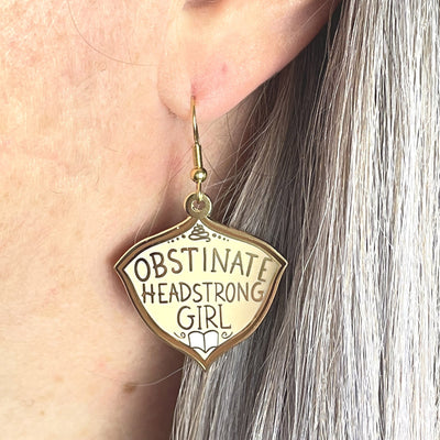 Obstinate Headstrong Girl Earrings
