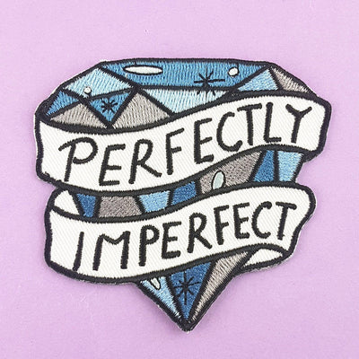 Perfectly Imperfect Embroidered Patch
