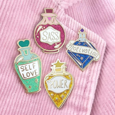 Potions of Power Lapel Pin Set