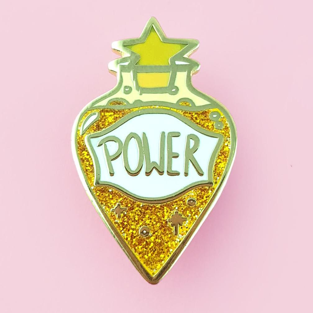 Potion Of Power Lapel Pin