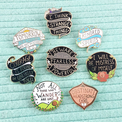 Fearless Fiction Lapel Pin Set