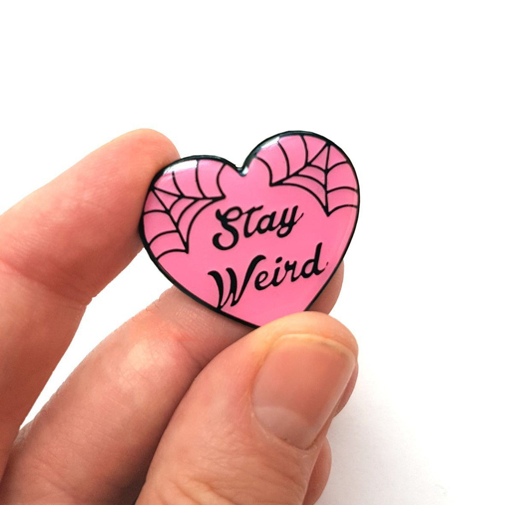 Stay Weird Lapel Pin - Jubly-Umph -  Lapel Pin, - 5