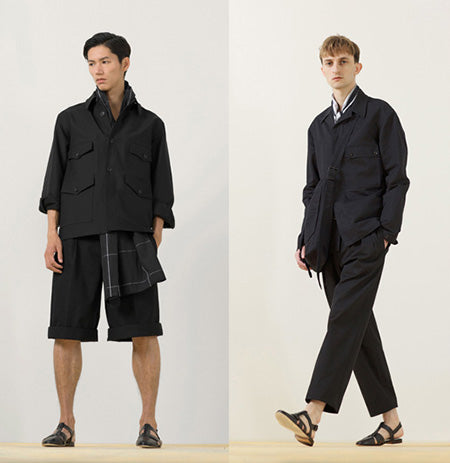 Christophe Lemaire SS-2014 men collection lookbook, Paris