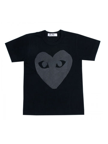 Grey huge heart T-Shirt