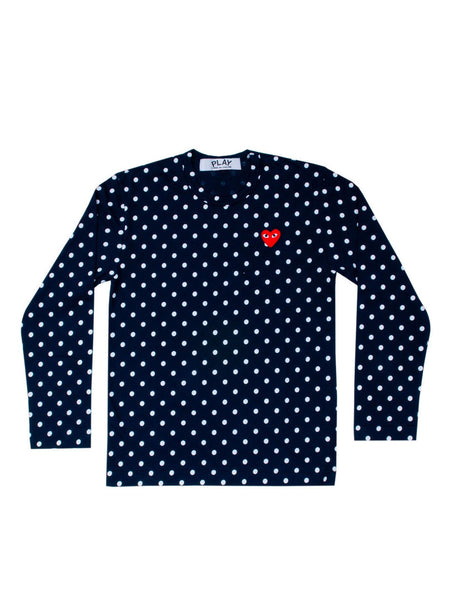Blue Polkadots T-Shirt