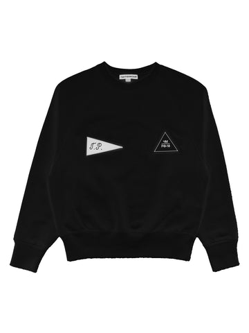 Gosha black crew neck sweater
