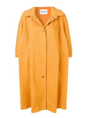 Dictionary Coat Orange