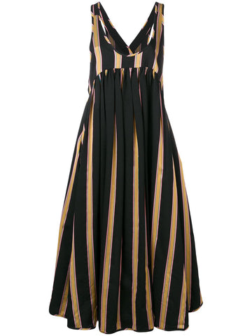 Windy dress multistripes