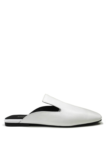 Elton white loafer