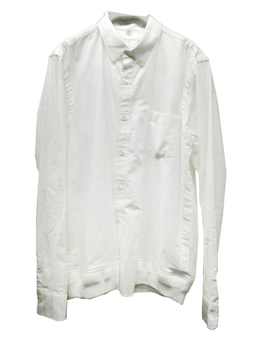 Sacai Men white LS Shirt