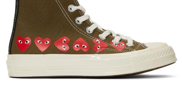 b91ebf2cdde3 Converse Play. AVAILABLE NOW in-store! Converse PLAY Comme des Garcons