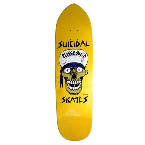 DOGTOWN SUICIDAL PUNK POINT LANCE SKULL YELLOW 8.75