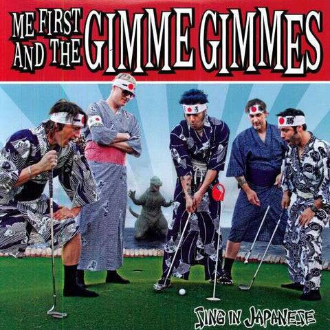 Me First And The Gimme Gimmes-Sing In Japanese - Skateboards Amsterdam