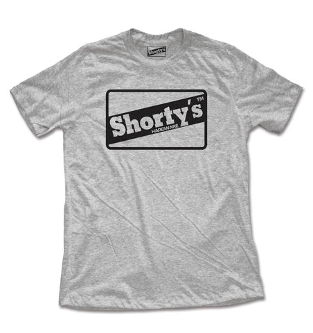 SHORTYS OG OUTLINE T-SHIRT CHARCOAL HEATHER