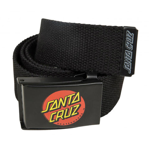 SANTA CRUZ CLASSIC DOT BELT BLACK