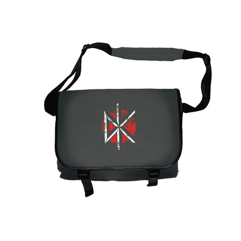 DEAD KENNEDYS BAG DISTRESSED LOGO BLACK