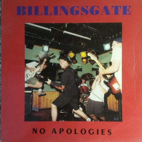 Billingsgate - No Apologies LP - Skateboards Amsterdam