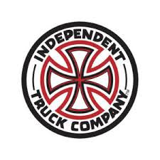 INDEPENDENT RED/WHITE CROSS STICKER 6 INCH