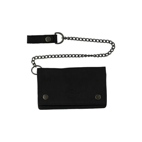 DICKIES DEEDSVILLE WALLET BLACK - Skateboards Amsterdam