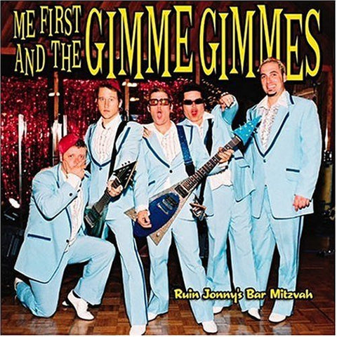 Me First And The Gimme Gimmes-Ruin Johnny's Bar Mitzvah - Skateboards Amsterdam