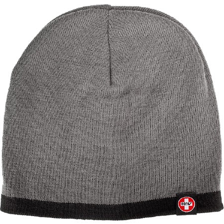 BONES SWISS TAG BEANIE CHARCOAL/BLACK