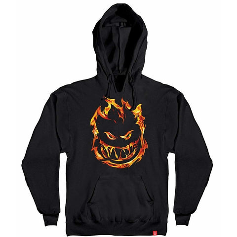 SPITFIRE 451 HOODED SWEATER BLACK