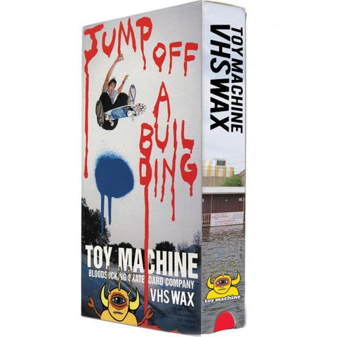 TOY MACHINE WAX VHS JUMP OFF A BUILDING