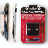 SKATEHOARDING PRO SKATEBOARD WALL HANGER DISPLAY MOUNT