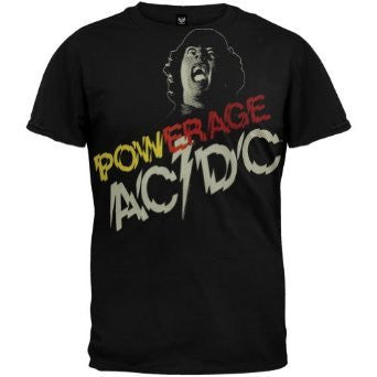 AC/DC POWERAGE T-SHIRT BLACK - Skateboards Amsterdam