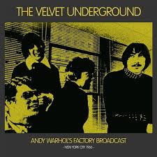 Velvet Underground-Andy Warhol's Factory Broadcast NYC 1966