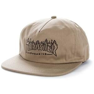THRASHER WITCH SNAPBACK TAN