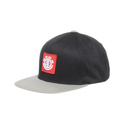 ELEMENT UNITED CAP BLACK GREY