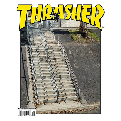 THRASHER MAGAZINE MARCH 2020