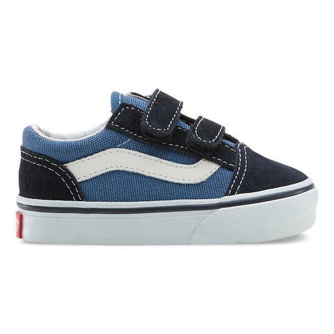 VANS OLD SKOOL V NAVY - Skateboards Amsterdam - 1