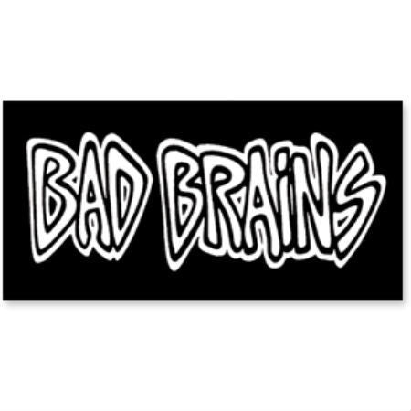 BAD BRAINS PRINTED PATCH LOGO - Skateboards Amsterdam