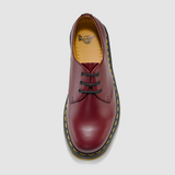 DR MARTENS 1461 3-EYELET SHOE CHERRY RED - Skateboards Amsterdam - 5