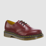 DR MARTENS 1461 3-EYELET SHOE CHERRY RED - Skateboards Amsterdam - 2