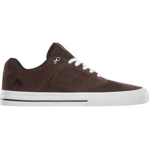EMERICA REYNOLDS 3 G6 VULC BROWN/WHITE