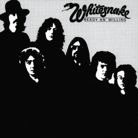 Whitesnake-Ready And Willing - Skateboards Amsterdam - 1