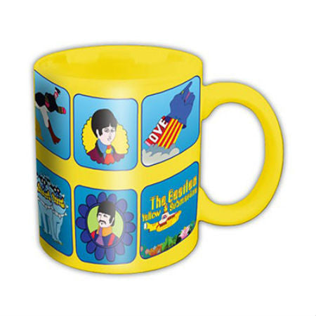 BEATLES YELLOW SUBMARINE CHARACTERS BOXED MUG - Skateboards Amsterdam