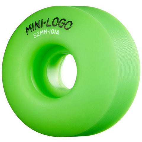 MINI LOGO C-CUT GREEN 101A 52MM - Skateboards Amsterdam - 1