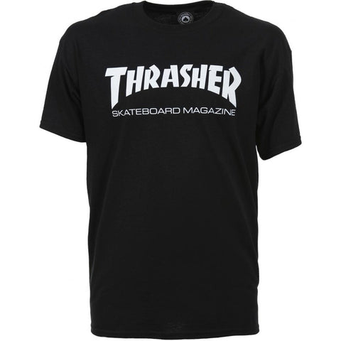 THRASHER SKATE MAG T-SHIRT BLACK - Skateboards Amsterdam