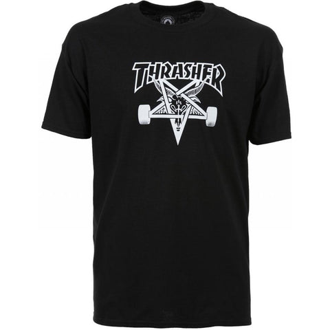 THRASHER SKATEGOAT T-SHIRT BLACK - Skateboards Amsterdam