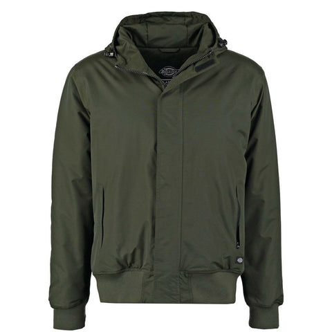 DICKIES CORNWELL JACKET OLIVE GREEN - Skateboards Amsterdam - 1