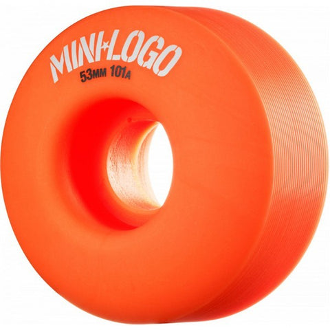 MINI LOGO C-CUT ORANGE 101A 53MM