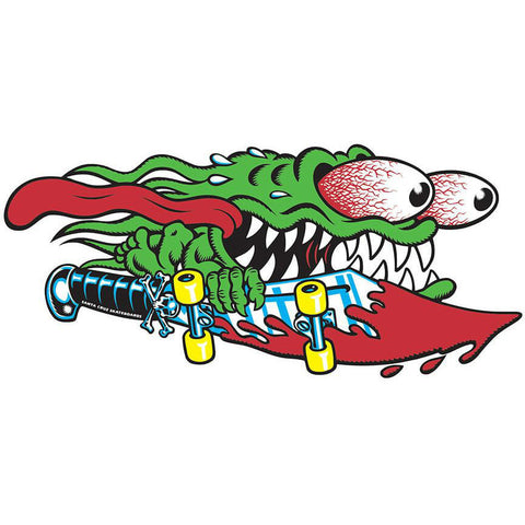 "SANTA CRUZ SLASHER SWORD DECAL 6"" - Skateboards Amsterdam"