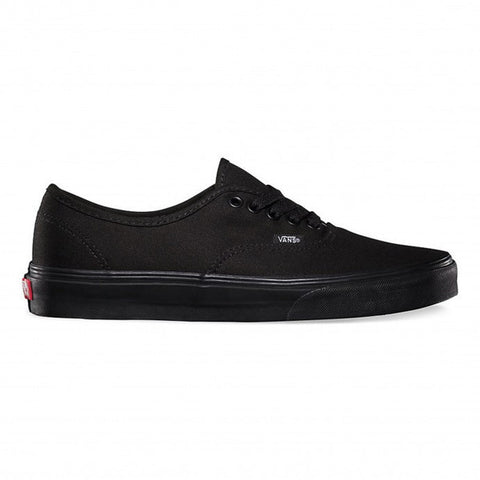 VANS AUTHENTIC BLACK/BLACK - Skateboards Amsterdam - 1